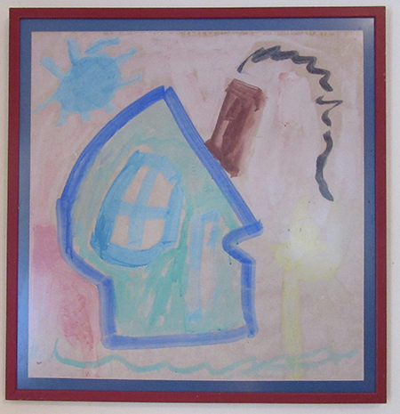 Tempra paint by Gary McGraw age 5
