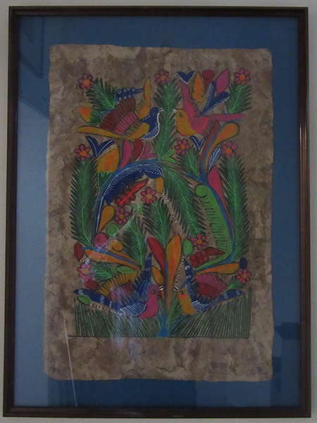 Traditional art from Mexico